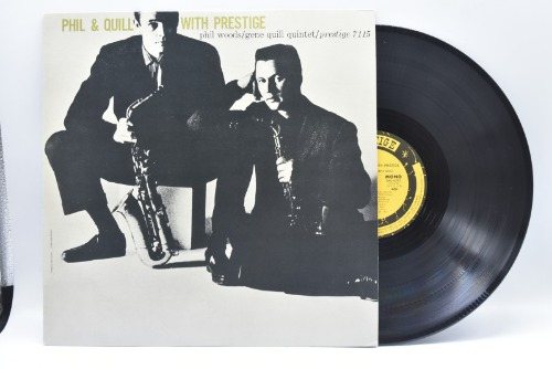 Phil Woods/gene Quill[필 우즈/진 퀼]-Phil and Quill with Prestige  중고 수입 오리지널 아날로그 LP