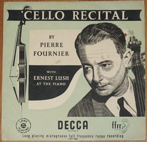 Cello Recital - Pierre Fournier