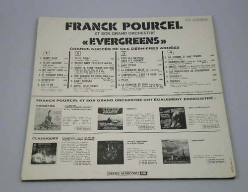 [적립금전용상품] Franck Pourcel - Evergreens (2LP)