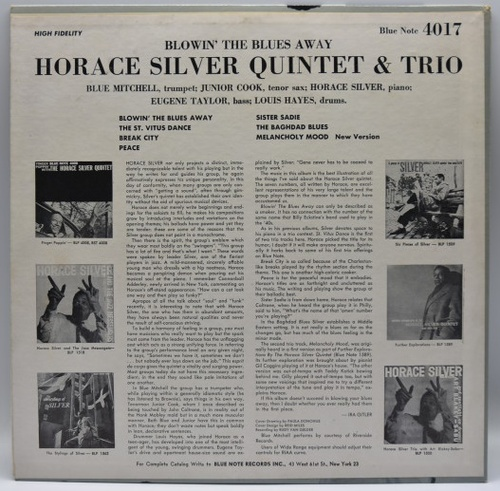 [적립금전용상품] Horace Silver Quintet & Trio - Blowin' the blues away