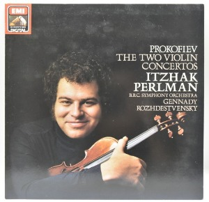 Prokofiev -The Two Violin Concertos - Itzhak Perlman 중고 수입 오리지널 아날로그 LP