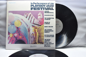 Various - In Performance at The PlayBoy Jazz Festival ㅡ 중고 수입 오리지널 아날로그 2 LP